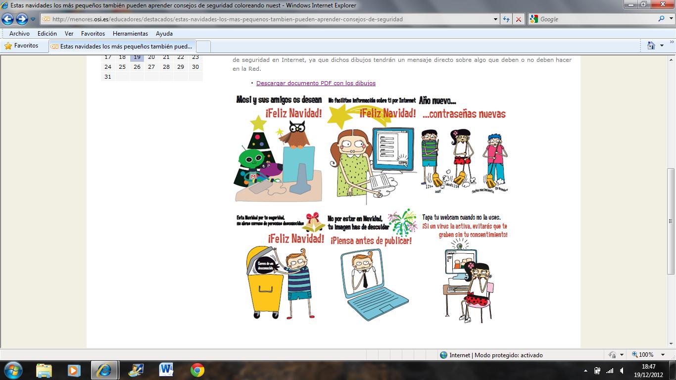 Dibujos Para Colorear Consejos Sobre Seguridad En La Red